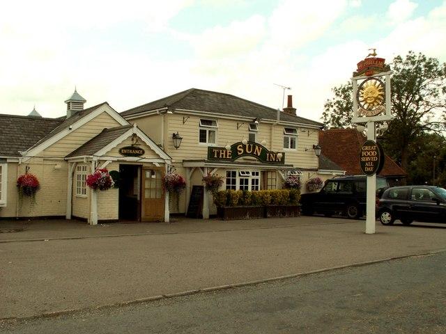 'The Sun Inn', Broadley Common, Nazeing, Essex