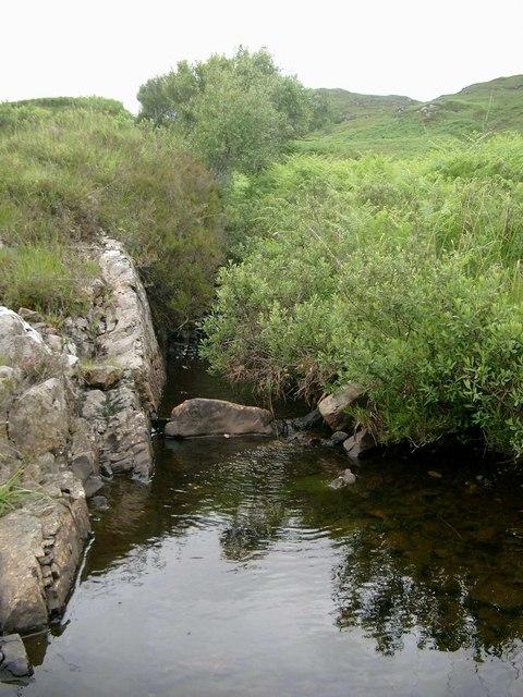Pool on the Abhainn a Ghlinne Mheadhonaich