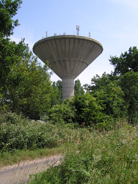 Catfield water tower