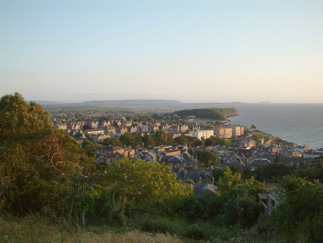 Clevedon - Taken from Dial Hill