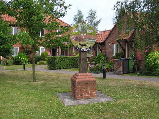 Village sign, Catfield