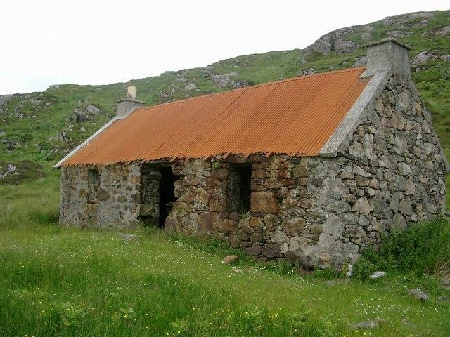 Ruined cottage at Dalavil