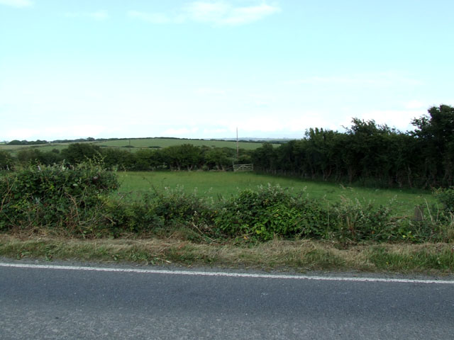 View from the A5025 road  looking East