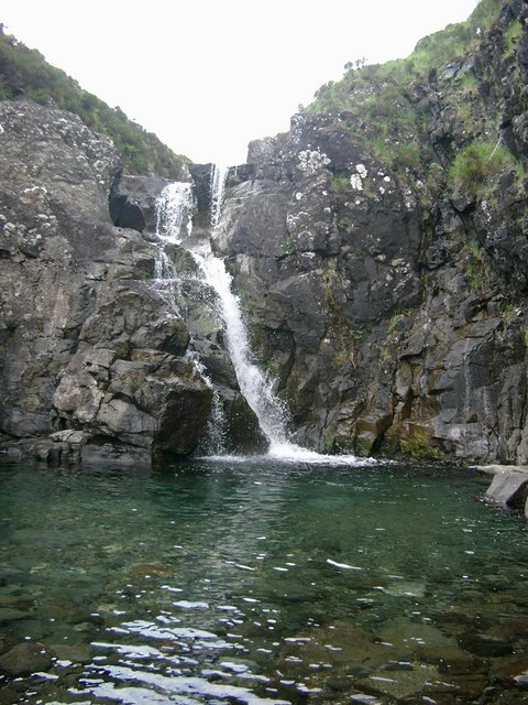 Waterfall on the Allt Dearg Mor