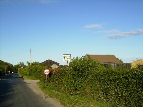 Friars Hill' on the outskirts of Sinnington Village