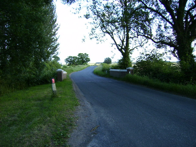 Ellerby bridge on unclassified road near Low Pasture House