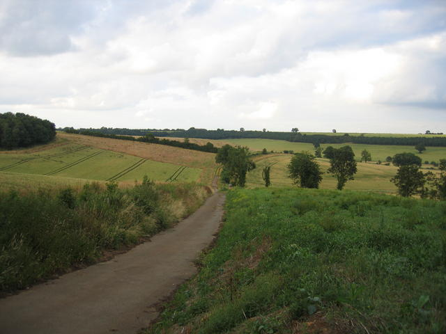 Footpath near Savee Farm