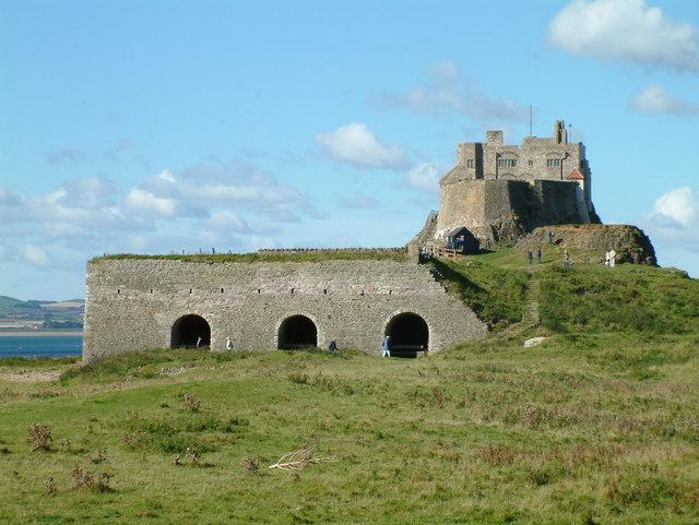 Lindisfarne Castle - Lime Kilns