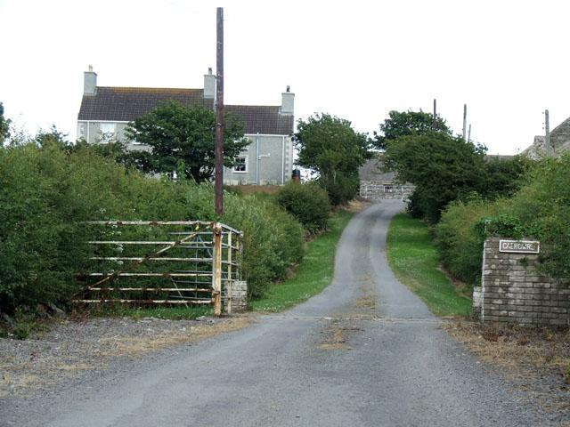 Caergwrli farm