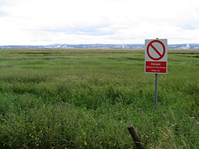 Marshland near Ness