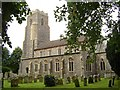 TM1986 : St Mary Magdalene, Pulham Market by Mike Snoswell