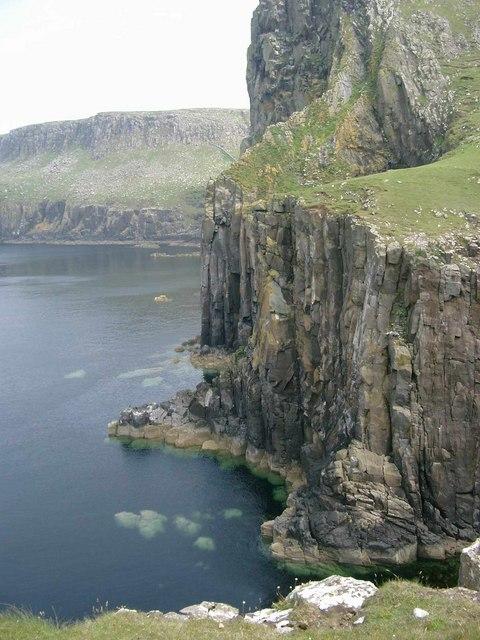 Sea cliffs at Neist