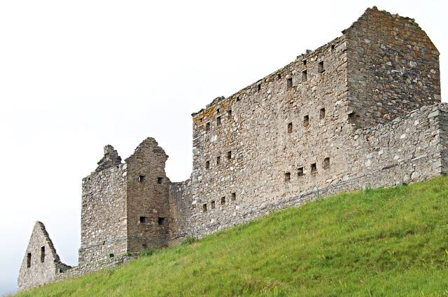 SW Wall, Ruthven Barracks