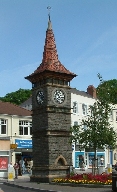 Clevedon - Triangle Clock Tower