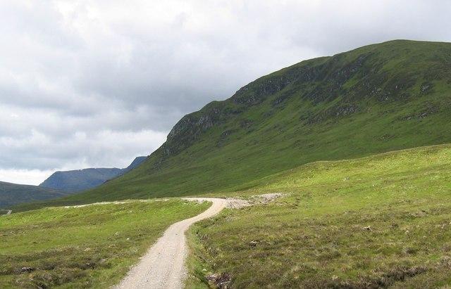 Track leading to Culra Lodge.