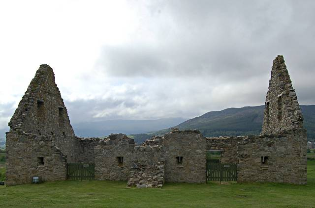 The stables, Ruthven Barracks