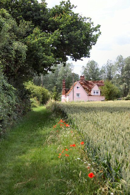 Footpath to Boxted