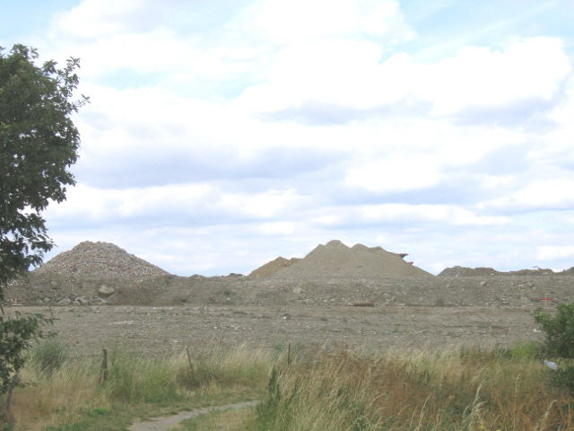 landfill on Crayford Marshes