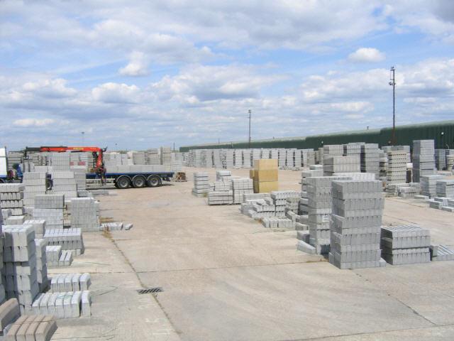 concrete yard