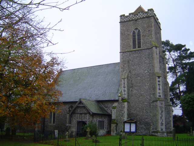 All Saints' Church, Shelfanger