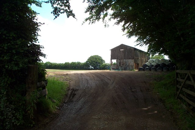 Barn off the B3190, in the Brendon Hills