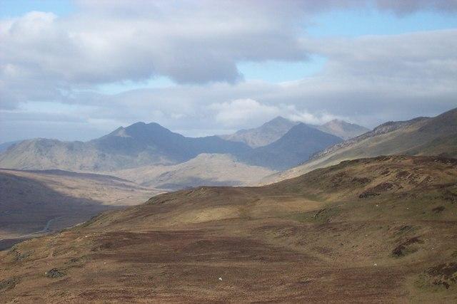 Snowdon mountain range