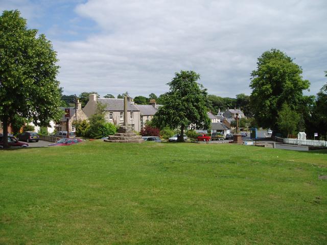 Ancrum village green