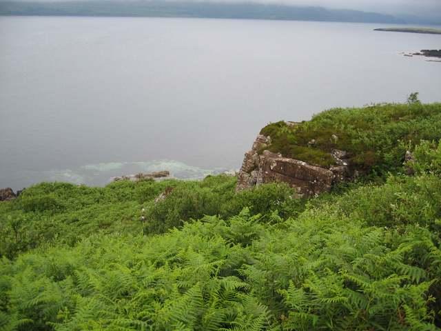 Outcrop above Port Mor