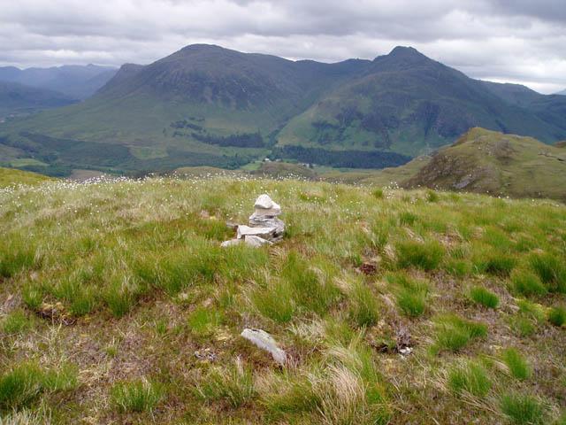 Summit of Beinn a' Mheadhoin