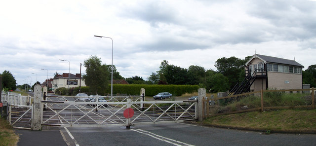 Ulceby Level Crossing