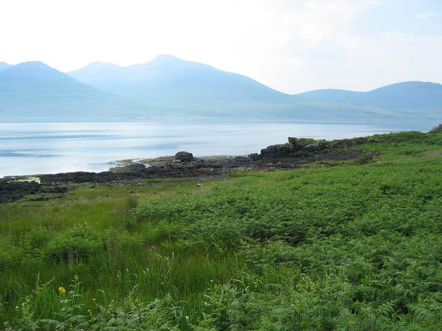 Loch na Keal shoreline