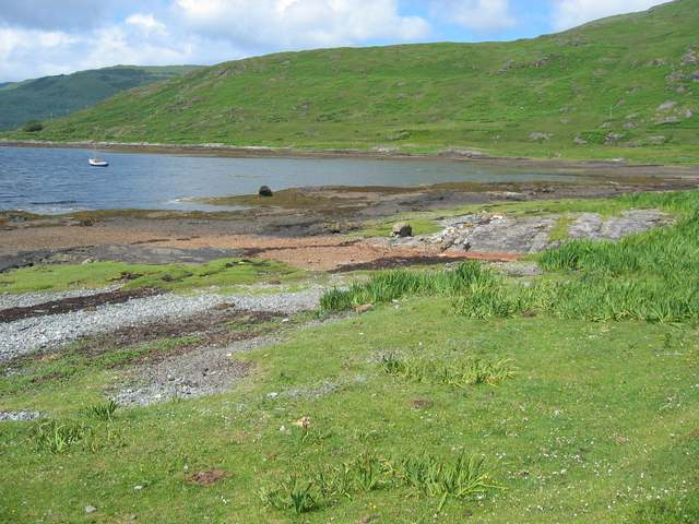 Shore of Loch Beg