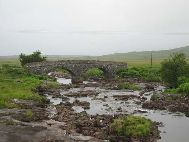 Old road bridge at Kinloch