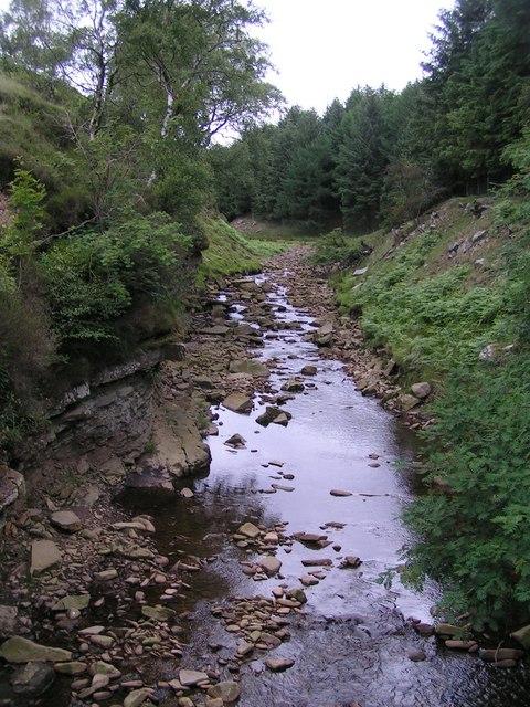 River Ashop, Woodlands valley