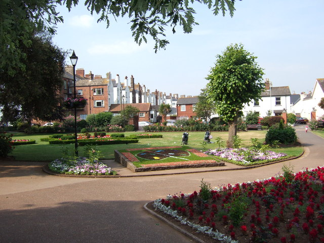 Manor Gardens, Exmouth.