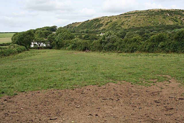 Agricultural Land and Spoil Heap