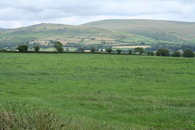 Sourton: towards Dartmoor ..