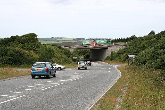 Underpass near Fraddon