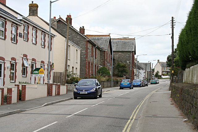 Fraddon Main Street