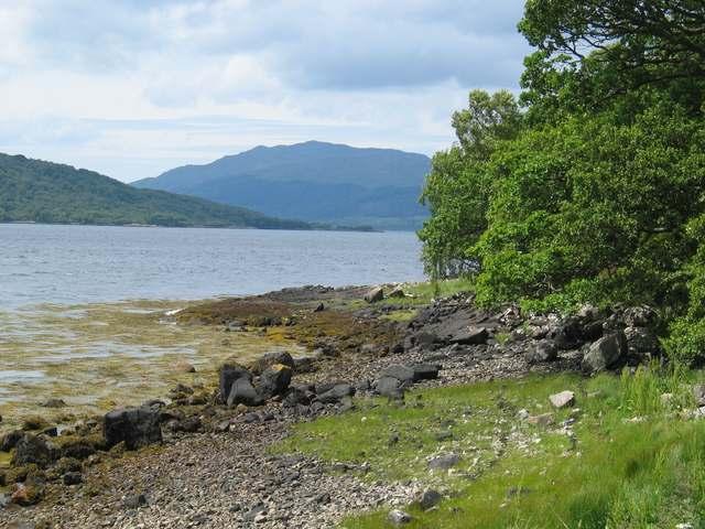 North shore of Loch Sunart