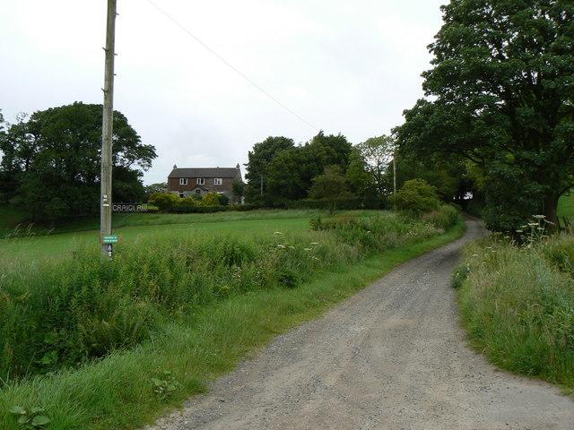 Craiglaw farm road