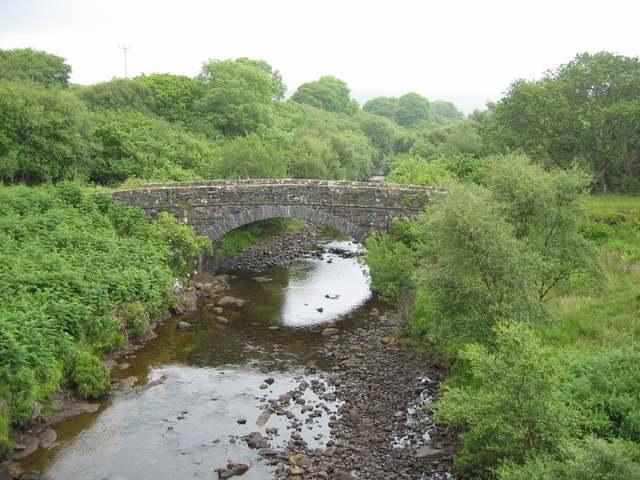 Old bridge on Beach River