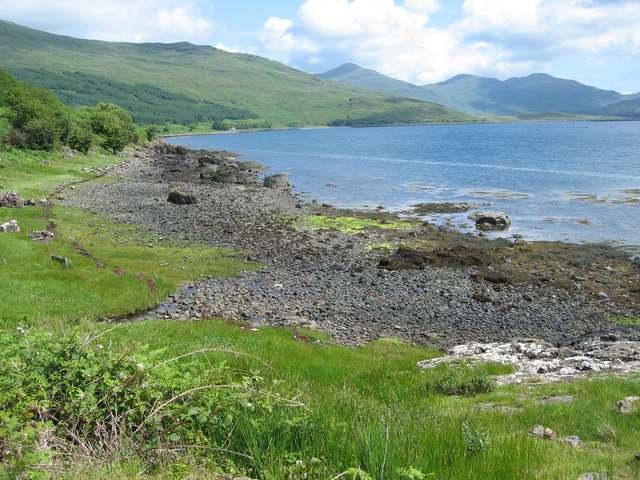 North shore of Loch Scridain