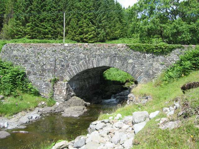 Bridge over the Allt na Coille Moire