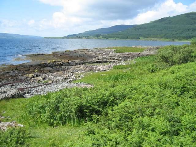 Shore of Loch Beg