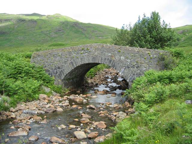 Bridge on the Gearr Abhainn