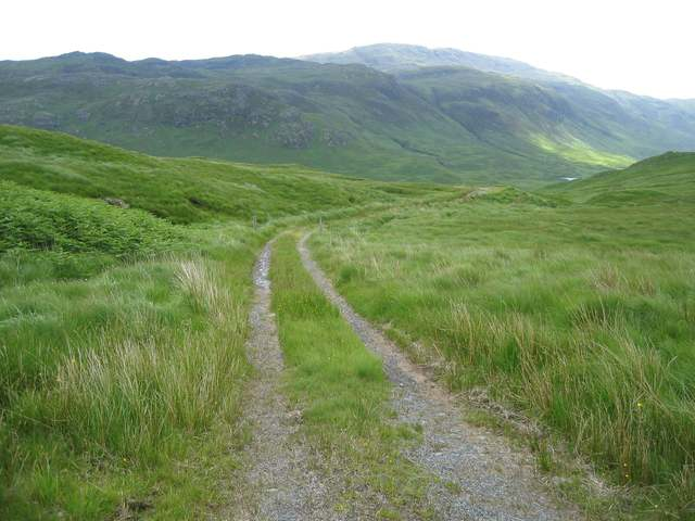The old road in Glen More