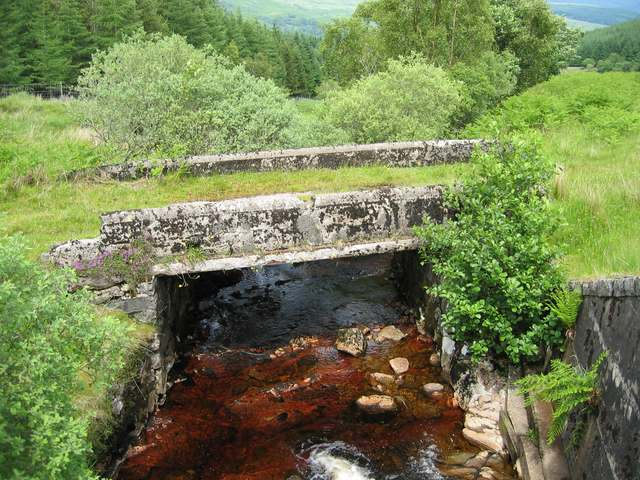 Old bridge over the Liddesdale Burn