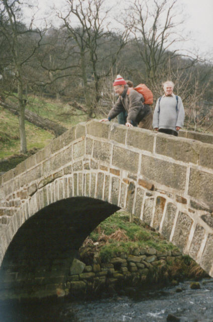 Bridge over Hebden Water