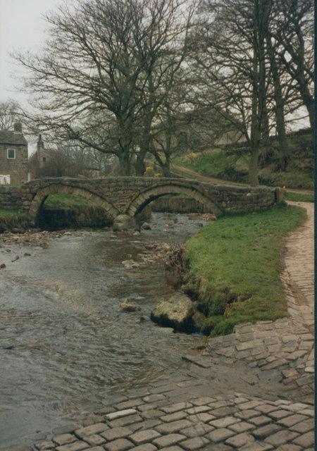 Stone bridge at Wycoller
